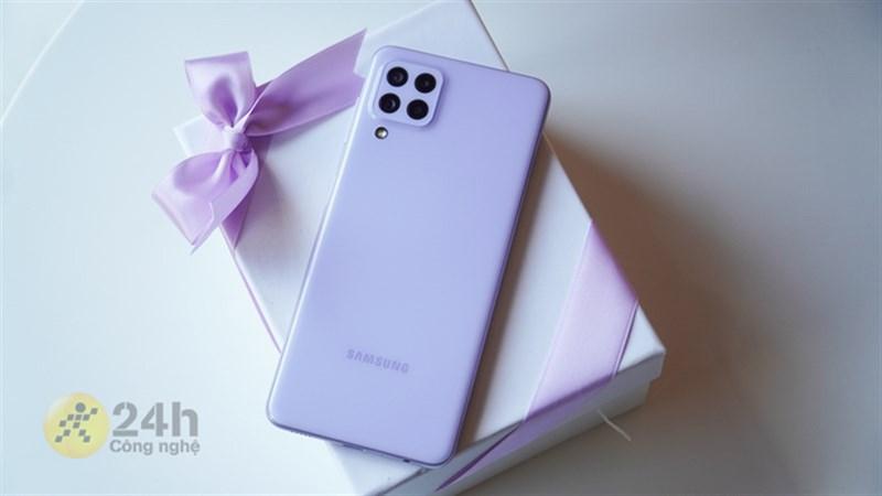 Khuyến mãi mùa dịch, giá Samsung Galaxy A22 ra sao? Có ưu đãi gì?