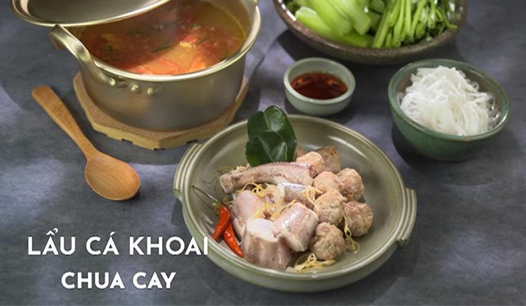 Cách làm lẩu cá khoai chua cay thơm ngon đặc biệt tại nhà