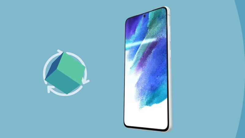 Hình ảnh render 3D Galaxy S21 FE