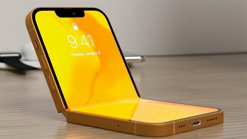 iPhone 13 Flip lộ hình ảnh render tuyệt đẹp, chuẩn dáng siêu phẩm