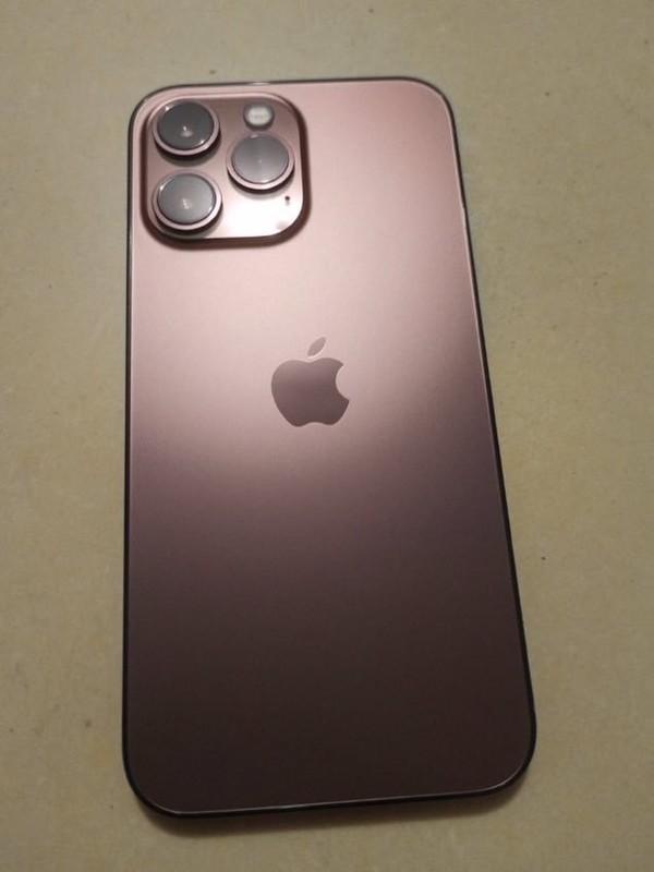 Nguyên mẫu iPhone 13 Pro màu Rose Gold lộ diện