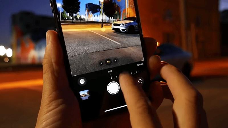 Cách tắt chế độ chụp đêm trên iPhone