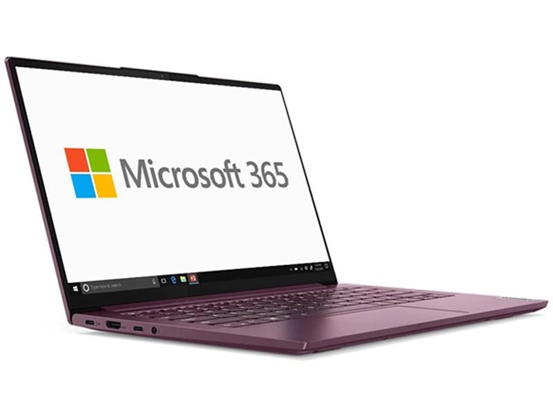 Đừng quên trang bị ngay Microsoft 365 cho máy tính Lenovo Yoga Slim 7