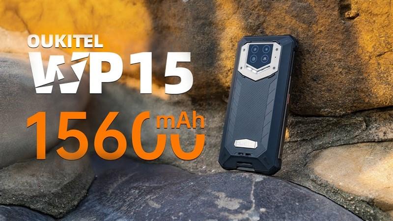 Oukitel WP15 5G ra mắt với pin khủng 15.600 mAh