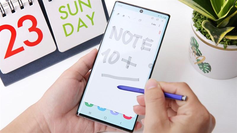 Máy đổi trả giá thấy ham, Galaxy Note 10 Plus cũ giá rẻ còn ưu đãi xịn