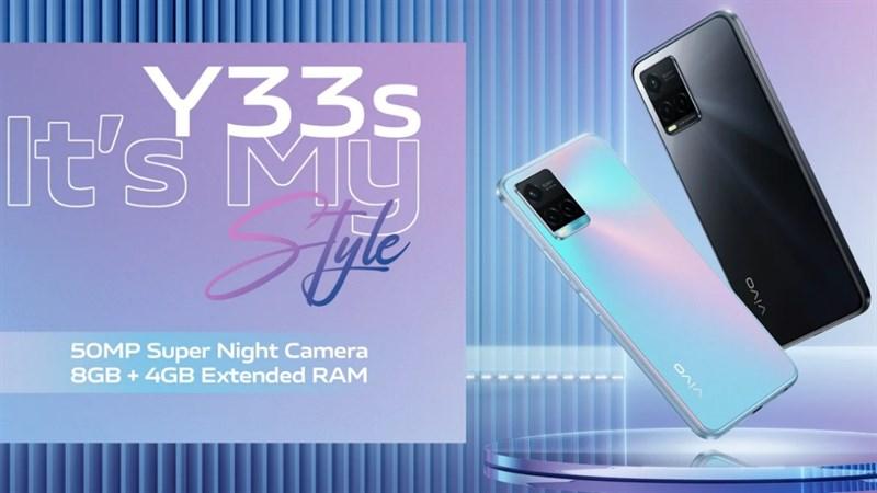 Vivo Y33s ra mắt: Dùng chip game Helio G80, có tính năng RAM ảo, camera 50MP chuyên chụp đêm và giá 5.5 triệu đồng