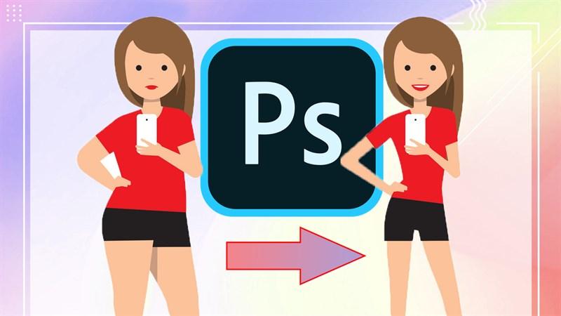 Cách chỉnh người béo thành gầy trong Photoshop