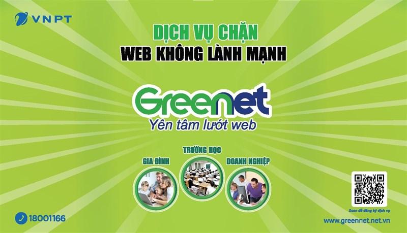 VNPT ra mắt dịch vụ chặn web độc hại GreenNet, sử dụng trực tuyến