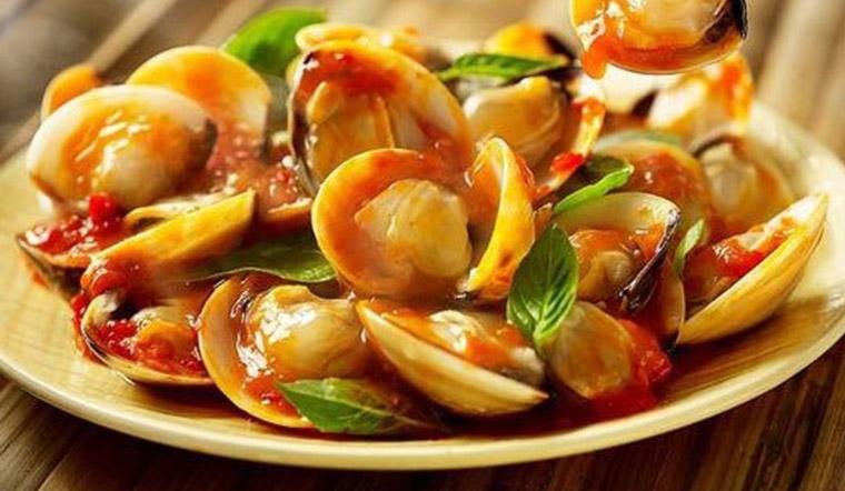 Cách làm ngao xào sốt chua ngọt kiểu Thái cay ngon khó cưỡng