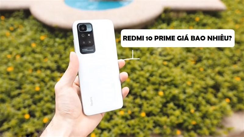 Redmi 10 Prime giá bao nhiêu?
