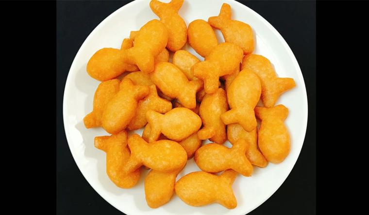 Cách làm bánh quy con cá giòn tan xinh xắn thơm ngon hương vị tuổi thơ