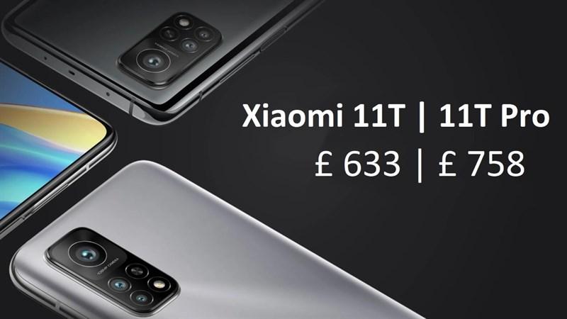 Giá bán dự kiến Xiaomi 11T, 11T Pro