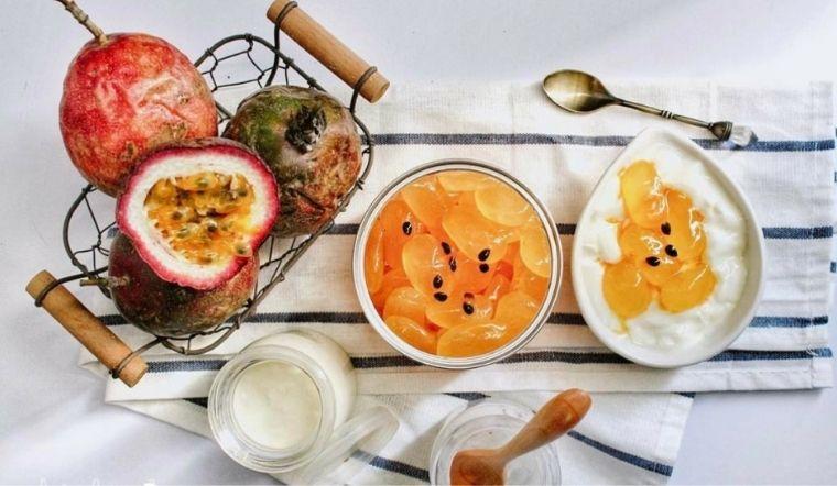 Cách làm sữa chua hạt đác chanh dây giòn ngon mát lạnh ngon hết sẩy