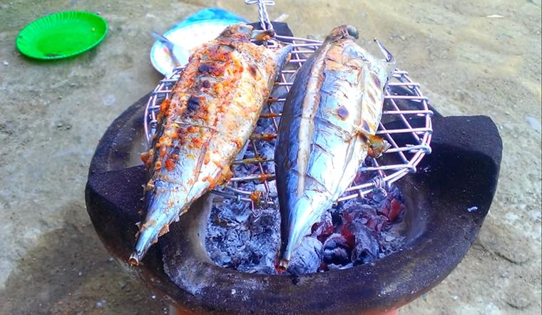 Cách làm món cá ngừ nướng muối ớt cay ngon hấp dẫn