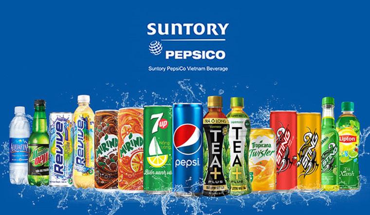 Top 10 sản phẩm bán chạy nhất của nhà Suntory Pepsico