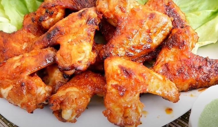Học ngay cách làm cánh gà nướng mật ong ngon bằng nồi chiên không dầu