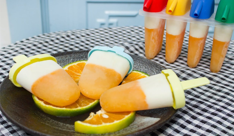 Cách làm kem cam sữa chua không cần whipping cream thơm mát giải nhiệt