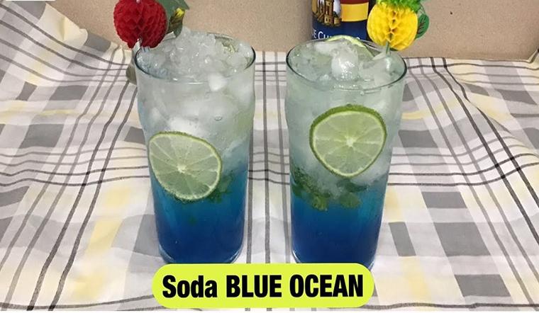 Hướng dẫn cách làm soda blue ocean mát lạnh sảng khoái ngày hè