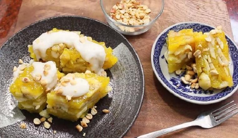 Cách làm bánh chuối hấp bột năng thơm ngon cực đơn giản tại nhà