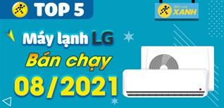 Top 5 Máy lạnh LG bán chạy nhất tháng 8/2021 tại Điện máy XANH