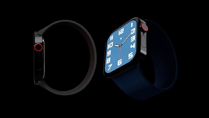Apple Watch S7 xuất hiện tuyệt đẹp trong bản concept mới, ưng quá xá!