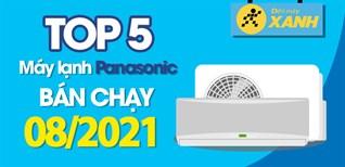 Top 5 Máy lạnh Panasonic bán chạy nhất tháng 8/2021 tại Điện máy XANH