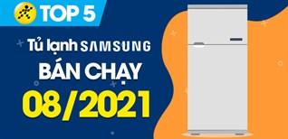 Top 5 Tủ lạnh Samsung bán chạy nhất tháng 8/2021 tại Điện máy XANH