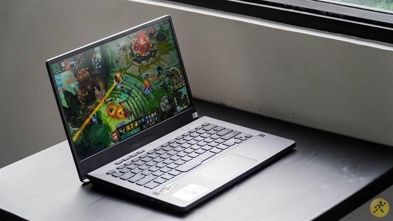 Asus Rog Zephyrus G14 GTX1650 - laptop gaming nhỏ gọn, không sợ kẻ địch mạnh, chỉ sợ không có Zephyrus G14 để chiến game