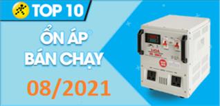 Top 10 Ổn áp bán chạy nhất tháng 8/2021 tại Điện máy XANH