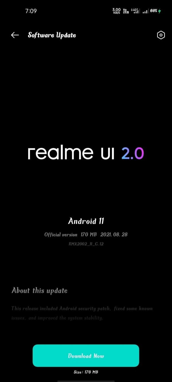 Realme 6 được cập nhật Android 11 với giao diện Realme UI 2.0