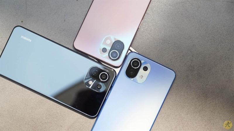 Top 5 điện thoại Xiaomi bán chạy nhất tháng 8/2021