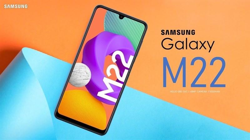 Galaxy M22 với 4 camera sau, pin 5.000mAh xuất hiện trên trang web hỗ trợ, ngày ra mắt đã đến rất gần rồi