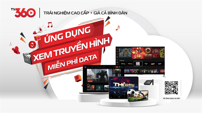 Viettel miễn phí 100% lưu lượng data khi xem Việt Nam - Úc trên TV360