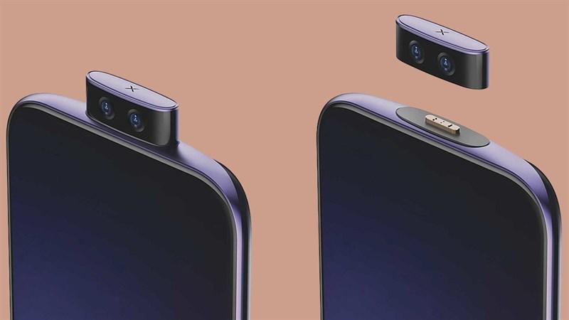 Vivo tiết lộ bằng sáng chế với điện thoại có mô-đun camera tháo rời