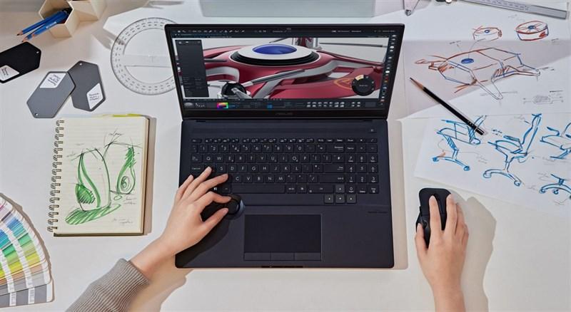 ASUS ProArt StudioBook 16 OLED được trang bị cấu hình rất mạnh mẽ.