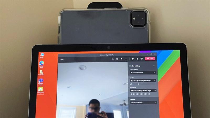 Cách kết nối camera điện thoại với máy tính