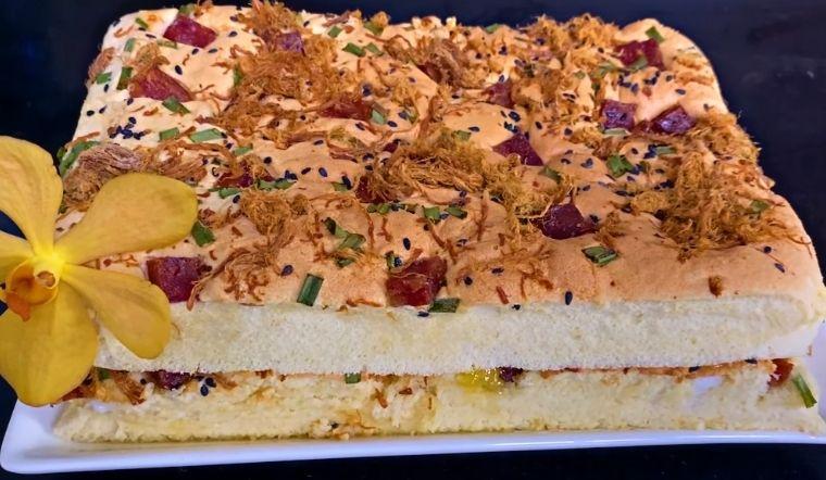 Học ngay cách làm bánh bông lan mặn vừa mềm vừa xốp, thơm ngon khó cưỡng