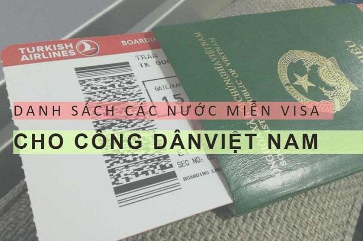 Danh sách các quốc gia miễn thị thực