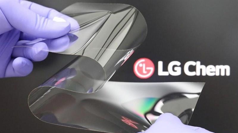 LG phát triển thành công công nghệ màn hình gập mới
