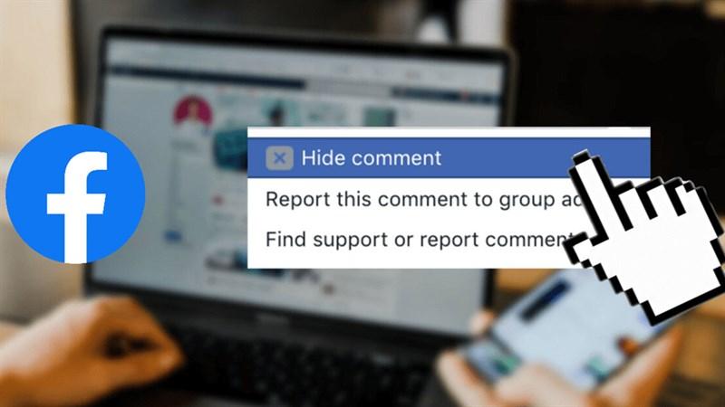 cách ẩn bình luận trên Facebook
