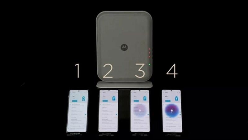 Trạm sạc không dây mới của Motorola, sạc lên đến 4 thiết bị và...