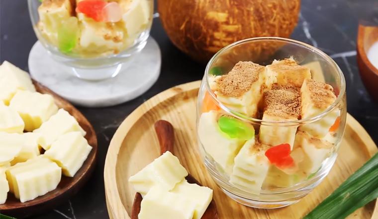 Cách làm sữa chua dẻo sầu riêng thơm béo mát lạnh cực hấp dẫn tại nhà