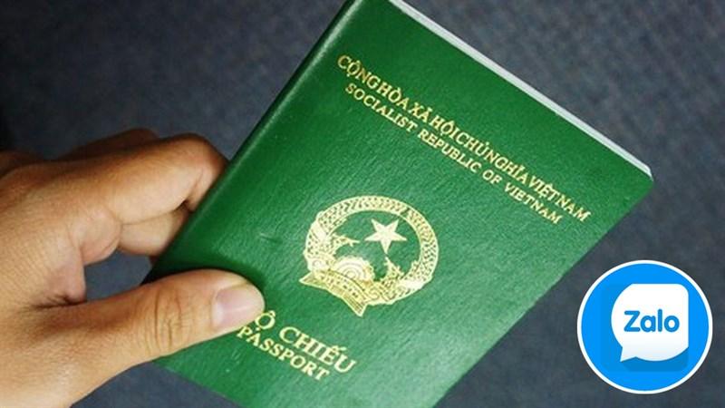 Cách đặt lịch hẹn cấp hộ chiếu bằng Zalo