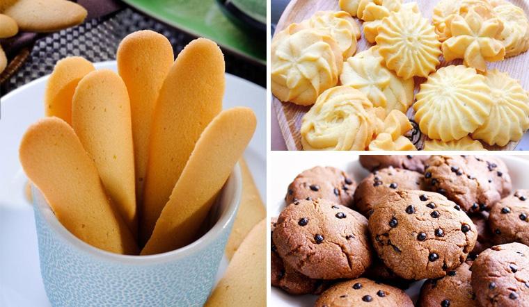 3 cách làm bánh quy bằng nồi chiên không dầu giòn thơm, đơn giản