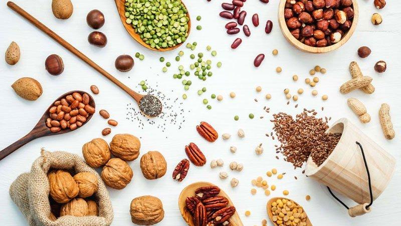 Ngũ cốc nguyên hạt là thực phẩm rất giàu vitamin B5