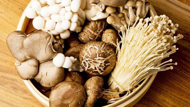 100 gram nấm cung cấp cho chúng ta 3,6mg mg Vitamin B5