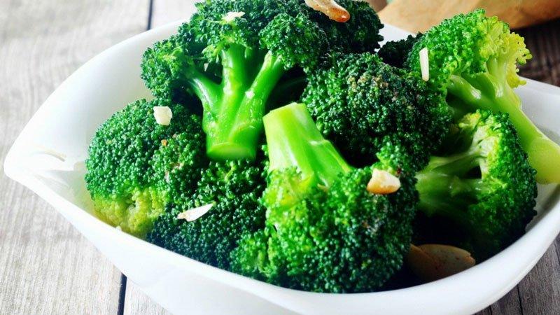 Bông cải xanh là thực phẩm cung cấp vitamin B5 rất tốt