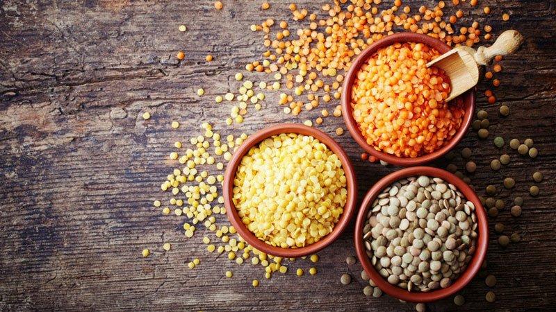 Đậu lăng chứa lượng lớn vitamin B5