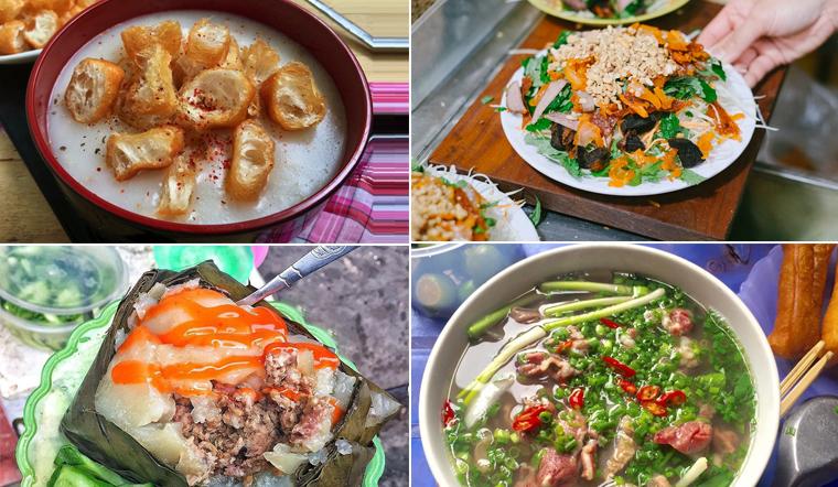 Tổng hợp 10 món ăn quen thuộc của người Hà Nội