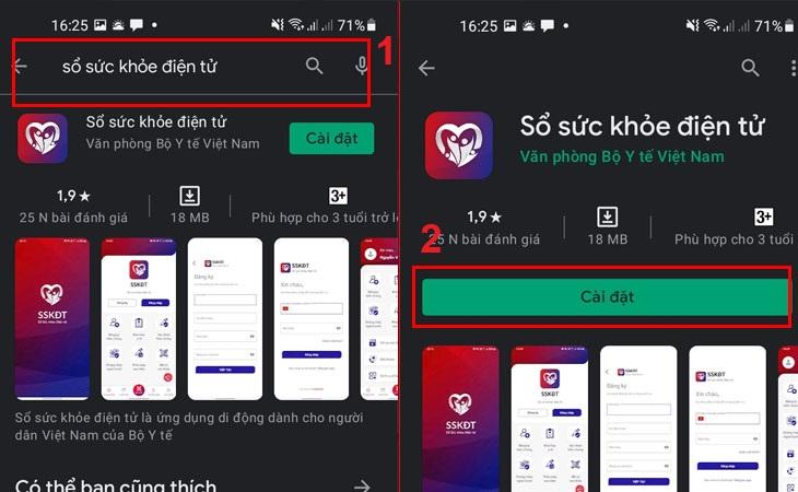 hoặc nhấp vào liên kết trực tiếp để tải xuống ứng dụng cho Android |  iOS.